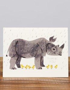 Rhino Thank You Card