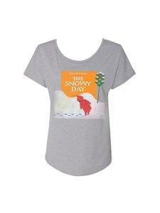 Snowy Day Ladies T-Shirt