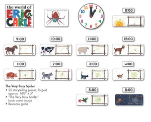 Very Busy Spider Bulletin Board Set