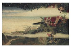 Gennady Spirin Postcard -  Jack And The Beanstalk