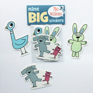 Mo Willems Sticker Pack