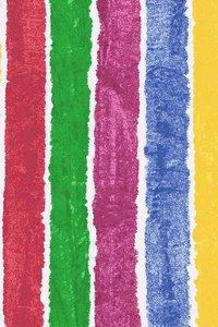 Brown Bear Stripes Fabric