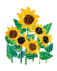 Card-Sunflowers