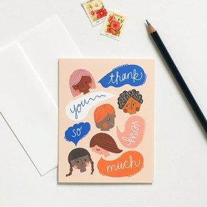 Card-Thank You Peeps