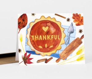 Card-Thankful Pumpkin Pie
