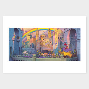 Aaron Becker Limited Edition Print: The Great Celebration