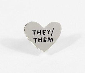 Pin-Pronoun: They/Them