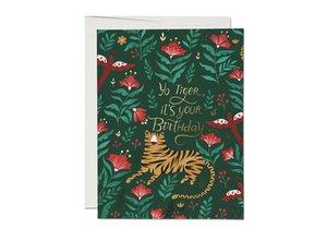 Card-Tiger Birthday