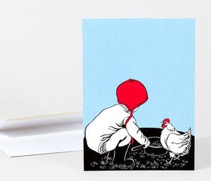 Nikki McClure Card - Together