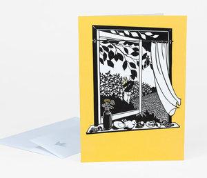 Nikki McClure Card-Treasure