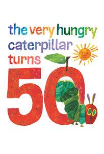 Very Hungry Caterpillar 50th Anniversary Postcard