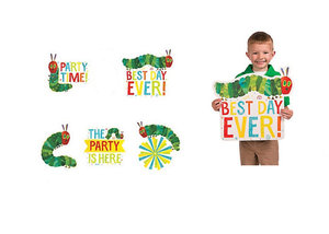 Caterpillar Jumbo Party Cut-Out Decorations