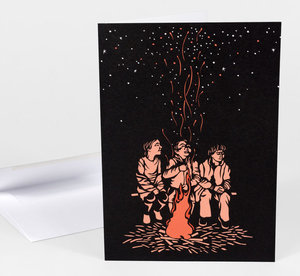 Nikki McClure Card - We Are Starlight
