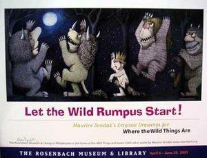 Maurice Sendak Poster - Wild Rumpus