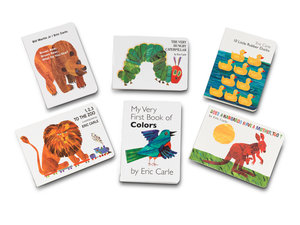 Eric Carle Baby Book Bundle