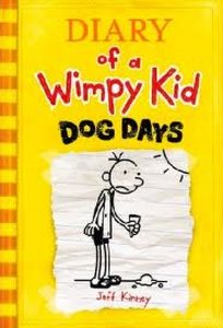 Diary of a Wimpy Kid #4: Dog Days - Autographed Hardcover