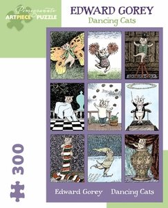 Edward Gorey Dancing Cats Puzzle
