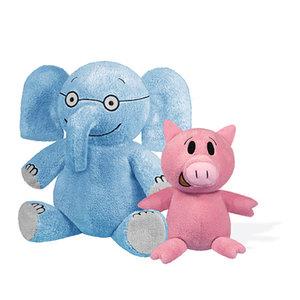 """ELEPHANT & PIGGIE"" Plush Toys"