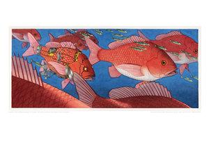 David Wiesner Signed Giclee Print - Flotsam