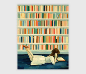 Emily Winfield Martin Print - Library