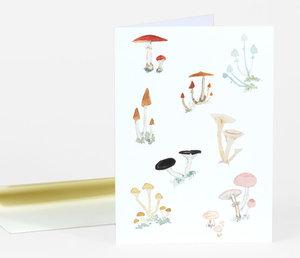 Emily Winfield MArtin Ivo's Mushrooms Card