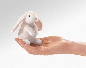 Lop Eared Rabbit Finger Puppet
