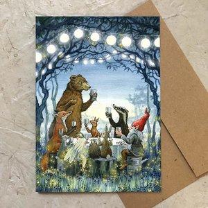 Moonlight Feast Card