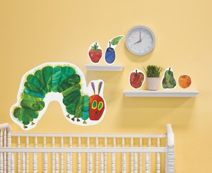 Very Hungry Caterpillar Fabric Wall Decals
