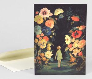 Night Garden Card