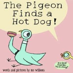 Pigeon Finds Hot Dog - Autographed