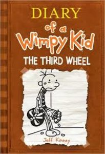 Diary of a Wimpy Kid #7: Third Wheel - Autographed Hardcover