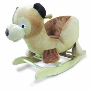 Brown Bear Rocker Toy