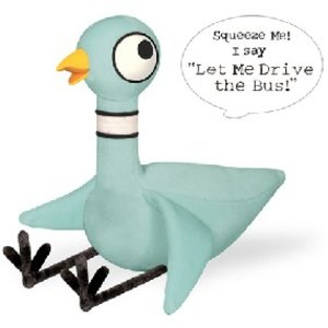 Talking Pigeon Plush Toy