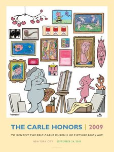 The Carle Honors 2009 Poster - Mo Willems