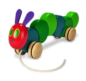 Caterpillar Wood Pull Toy