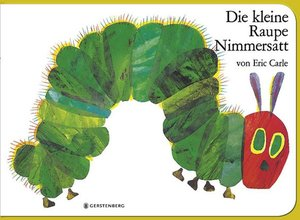 The Very Hungry Caterpillar (Foam Book) - GERMAN