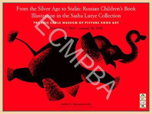 Russian Illustrators Exhibition Poster
