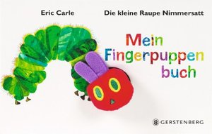 The Very Hungry Caterpillar Finger Puppet Book - GERMAN