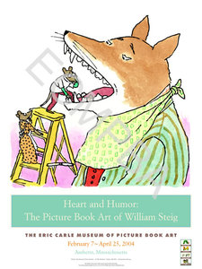 William Steig Exhibition Poster