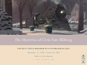 Chris Van Allsburg Exhibition Poster