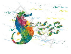 Seahorse Limited Edition Print