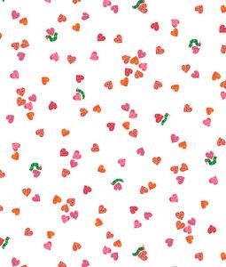 Confetti Hearts Fabric
