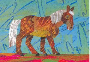 Eric Carle Postcard - Dream Snow Horse