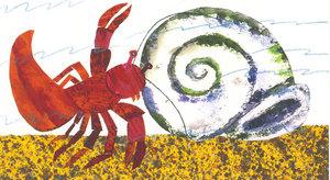 Eric Carle Postcard - Hermit Crab