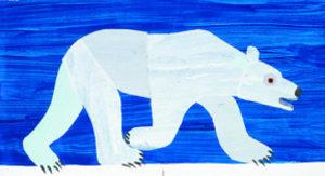Eric Carle Postcard - Polar Bear