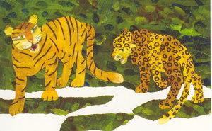Eric Carle Postcard - Wild Cats