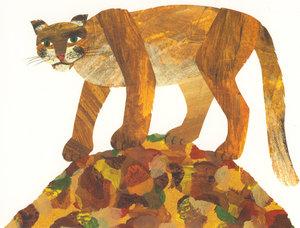 Eric Carle Postcard - Puma