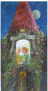 Eric Carle Postcard - Fairy Tale Tower