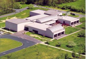 Carle Museum Postcard - Aerial View