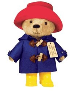 "Paddington Bear 10"" Toy with Yellow Boots"